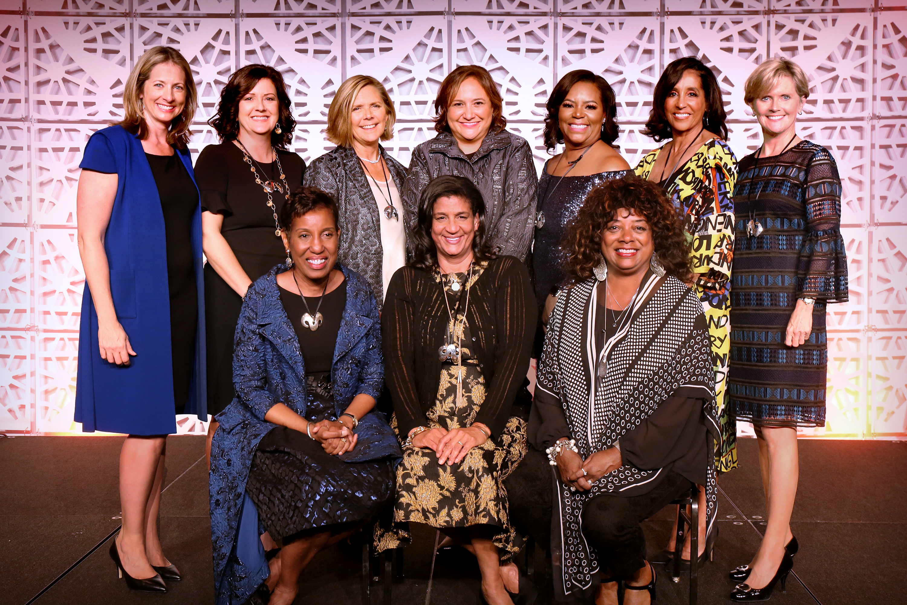 2019 AWA Honorees with Co-Chairs S & R