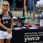 Diane Harsha at the 2018 Pride festival