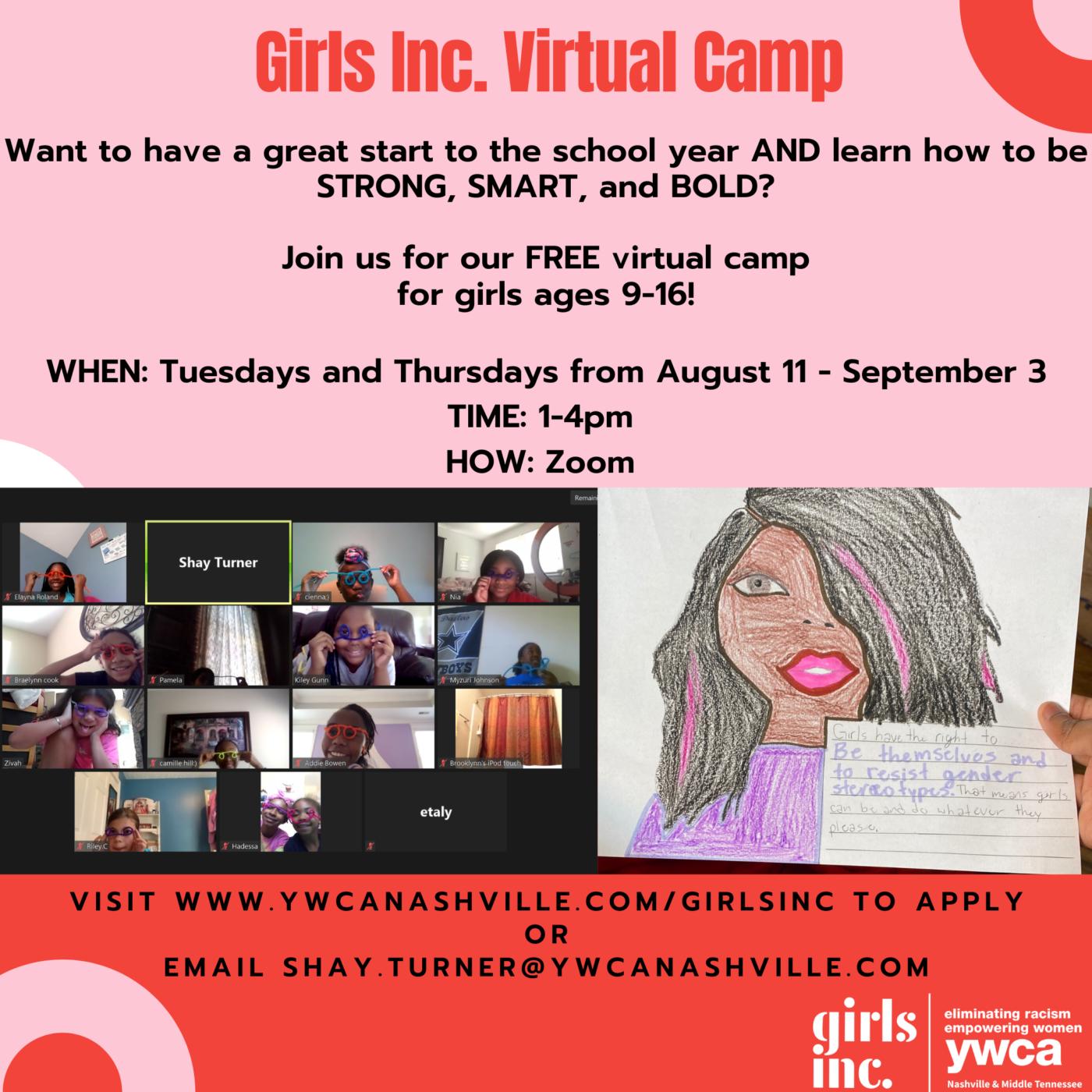 virtual camp 2020