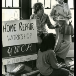A home repair workshop at the YWCA