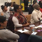 Participants at our January 2018 Circles for Change discussion on Civil Rights and the Blank Panther movement