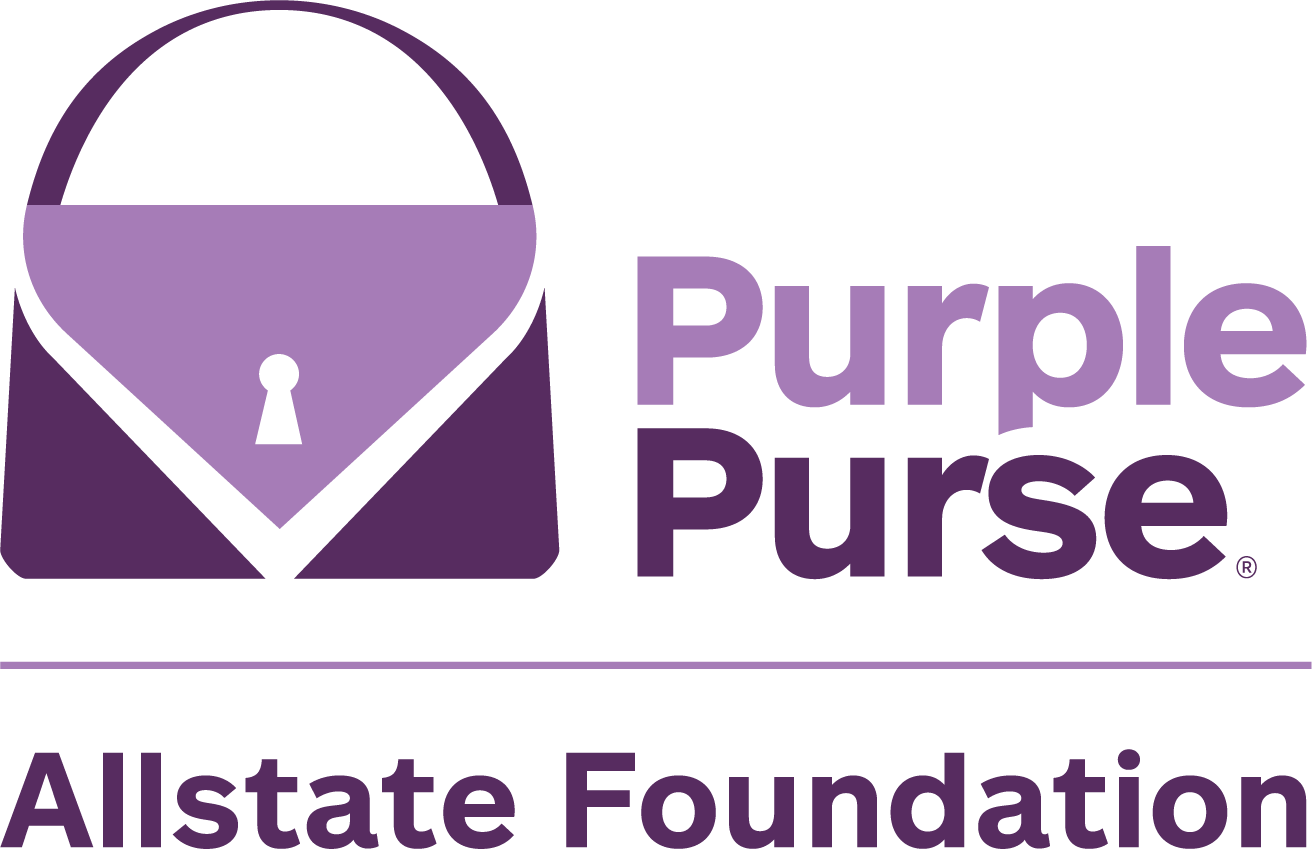 Allstate Purple Purse Logo